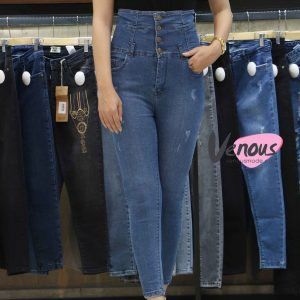 شلوار جین فاق بلند